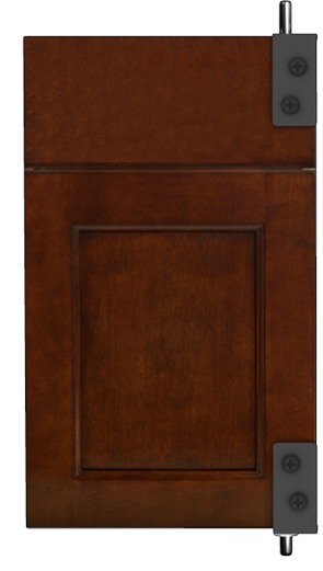 Wall mounted DoorDex a s&le display system arranges cabinetry doors beautifully allowing for easy access and reference while enhancing your showroom ...