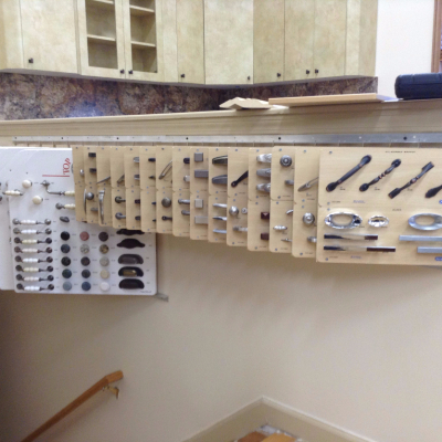 color blocks or hardware board display